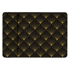 Abstract Stripes Pattern Samsung Galaxy Tab 8.9  P7300 Flip Case