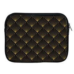 Abstract Stripes Pattern Apple iPad 2/3/4 Zipper Cases