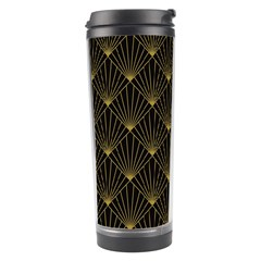 Abstract Stripes Pattern Travel Tumbler