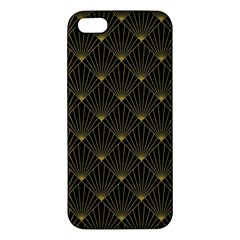 Abstract Stripes Pattern iPhone 5S/ SE Premium Hardshell Case