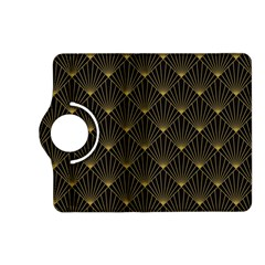Abstract Stripes Pattern Kindle Fire HD (2013) Flip 360 Case