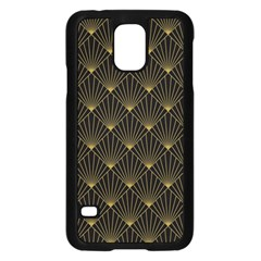 Abstract Stripes Pattern Samsung Galaxy S5 Case (Black)