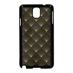 Abstract Stripes Pattern Samsung Galaxy Note 3 Neo Hardshell Case (Black)