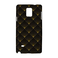 Abstract Stripes Pattern Samsung Galaxy Note 4 Hardshell Case