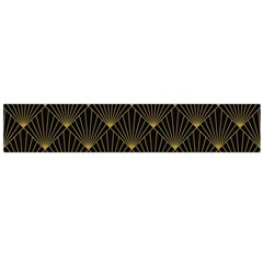 Abstract Stripes Pattern Flano Scarf (Large)