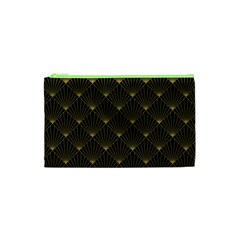 Abstract Stripes Pattern Cosmetic Bag (XS)