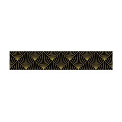 Abstract Stripes Pattern Flano Scarf (Mini)