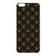 Abstract Stripes Pattern Apple Seamless iPhone 6 Plus/6S Plus Case (Transparent)