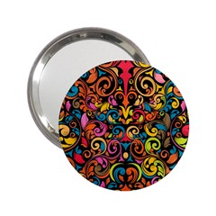 Art Traditional Pattern 2.25  Handbag Mirrors