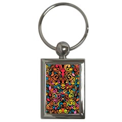 Art Traditional Pattern Key Chains (Rectangle)