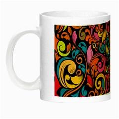 Art Traditional Pattern Night Luminous Mugs
