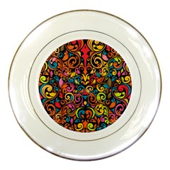 Art Traditional Pattern Porcelain Plates
