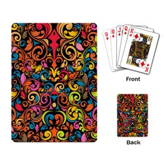 Art Traditional Pattern Playing Card