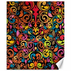 Art Traditional Pattern Canvas 8  x 10