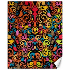 Art Traditional Pattern Canvas 11  x 14