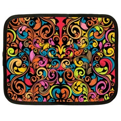 Art Traditional Pattern Netbook Case (Large)