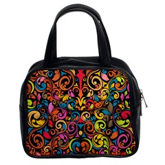 Art Traditional Pattern Classic Handbags (2 Sides)