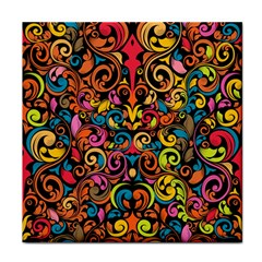 Art Traditional Pattern Face Towel