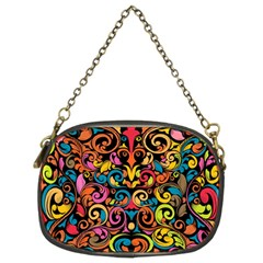 Art Traditional Pattern Chain Purses (Two Sides)