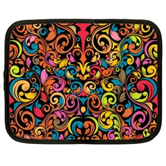 Art Traditional Pattern Netbook Case (XL)