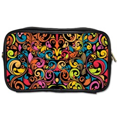 Art Traditional Pattern Toiletries Bags 2-Side