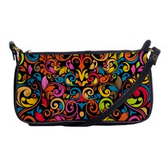 Art Traditional Pattern Shoulder Clutch Bags