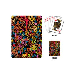 Art Traditional Pattern Playing Cards (Mini)