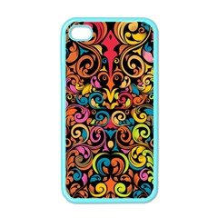 Art Traditional Pattern Apple iPhone 4 Case (Color)