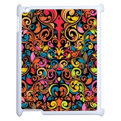 Art Traditional Pattern Apple iPad 2 Case (White)