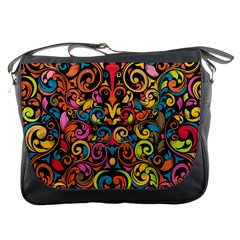 Art Traditional Pattern Messenger Bags