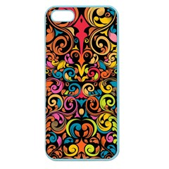 Art Traditional Pattern Apple Seamless iPhone 5 Case (Color)