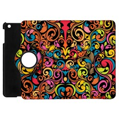 Art Traditional Pattern Apple iPad Mini Flip 360 Case