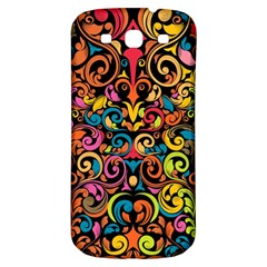 Art Traditional Pattern Samsung Galaxy S3 S III Classic Hardshell Back Case