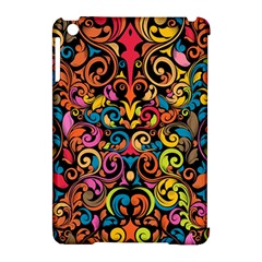 Art Traditional Pattern Apple iPad Mini Hardshell Case (Compatible with Smart Cover)
