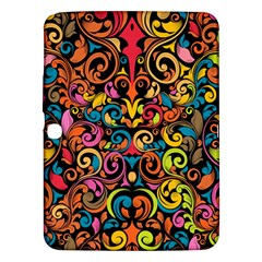Art Traditional Pattern Samsung Galaxy Tab 3 (10.1 ) P5200 Hardshell Case