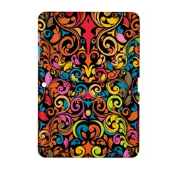 Art Traditional Pattern Samsung Galaxy Tab 2 (10.1 ) P5100 Hardshell Case