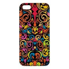 Art Traditional Pattern iPhone 5S/ SE Premium Hardshell Case