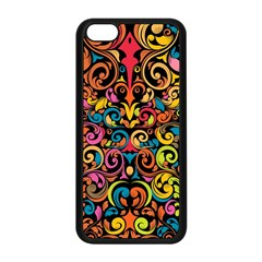 Art Traditional Pattern Apple iPhone 5C Seamless Case (Black)