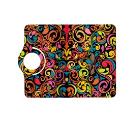 Art Traditional Pattern Kindle Fire HD (2013) Flip 360 Case