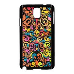 Art Traditional Pattern Samsung Galaxy Note 3 Neo Hardshell Case (Black)