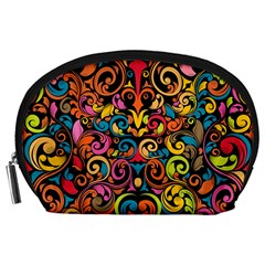 Art Traditional Pattern Accessory Pouches (Large)