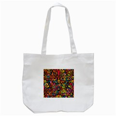 Art Traditional Pattern Tote Bag (White)