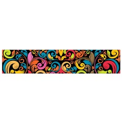 Art Traditional Pattern Flano Scarf (Small)