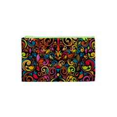 Art Traditional Pattern Cosmetic Bag (XS)