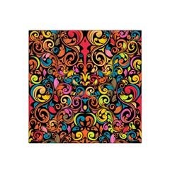 Art Traditional Pattern Satin Bandana Scarf