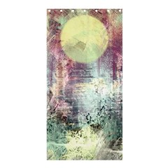 Frosty Pale Moon Shower Curtain 36  x 72  (Stall)