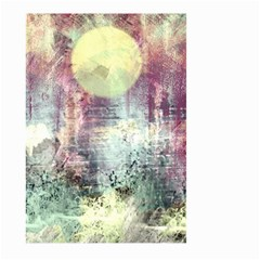 Frosty Pale Moon Large Garden Flag (Two Sides)