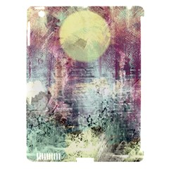 Frosty Pale Moon Apple iPad 3/4 Hardshell Case (Compatible with Smart Cover)