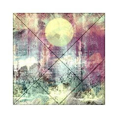 Frosty Pale Moon Acrylic Tangram Puzzle (6  x 6 )
