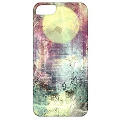 Frosty Pale Moon Apple Iphone 5 Classic Hardshell Case